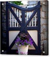 Maymont Gate Acrylic Print