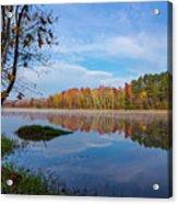 Mayor's Pond, Autumn, #1 Acrylic Print