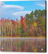 Mayor's Pond, Autumn, #4 Acrylic Print