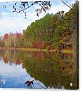 Mayor's Pond, Autumn, #7 Acrylic Print