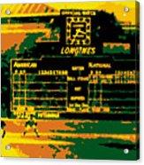 Maz World Series Homer Acrylic Print by Ron Regalado