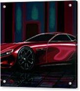 Mazda Rx Vision 2015 Painting Acrylic Print
