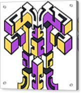 Maze Build 1 Acrylic Print