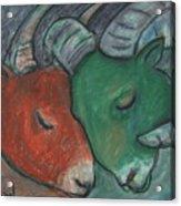 Mazi Aries Acrylic Print