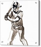 Mbl Batter Up Acrylic Print
