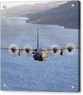 Mc-130h Combat Talon II Over Loch Ness Acrylic Print