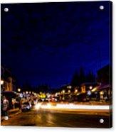 Mccall Road Night Acrylic Print