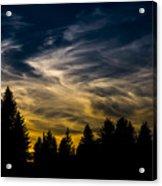 Mccall Sky Night Acrylic Print