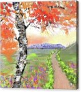 Mccall Splendor Acrylic Print