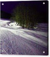 Mccauley Evening Snowscape Acrylic Print