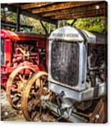 Mccormick Deering Tractors II Acrylic Print