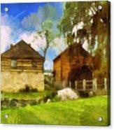 Mccormick Mill Acrylic Print