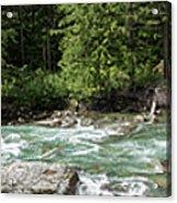 Mcdonald Creek Panorama Acrylic Print