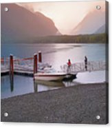 Mcdonald Lake At Dusk Acrylic Print