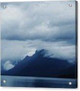 Mcdonald Lake Glacier Acrylic Print