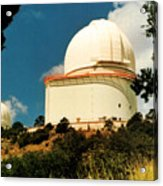 Mcdonald Observatory At Mt. Locke Acrylic Print