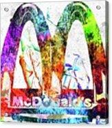 Mcdonalds Acrylic Print