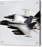 Mcdonnell Douglas F/a-18 Hornet Acrylic Print