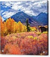 Mcgee Creek Majesty Acrylic Print