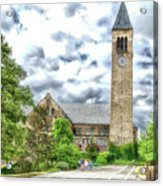 Mcgraw Tower Cornell University Ithaca New York Pa 10 Acrylic Print