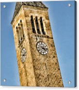 Mcgraw Tower Acrylic Print