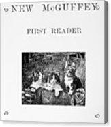 Mcguffeys Reader, 1901 Acrylic Print
