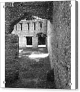 Mcintosh Sugar Mill Tabby Ruins Arch Acrylic Print