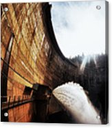 Mckays Dam Waterjet Acrylic Print