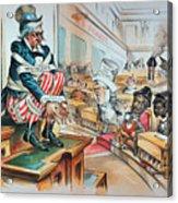 Mckinley Tariff Act, 1894 Acrylic Print by Granger