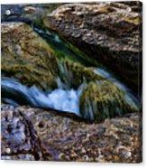 Mckinney Falls State Park-lower Falls 4 Acrylic Print