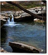 Mckinney Falls State Park-upper Falls 6 Acrylic Print