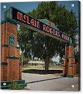 Mclain Rogers Entrance Acrylic Print