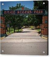Mclain Rogers Park Acrylic Print