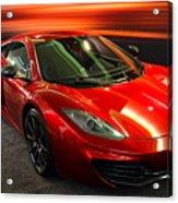 Mclaren Mph-12c Sportscar Acrylic Print