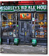 Mcsorley's  In Color Acrylic Print