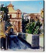 Mdina Gateway Acrylic Print