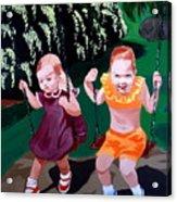 Me And Marg Acrylic Print