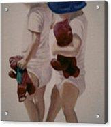 Me And My Shadow Acrylic Print
