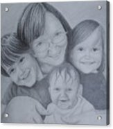 Me And The Grands Acrylic Print
