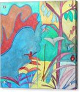 Me-bird In Paradise Acrylic Print