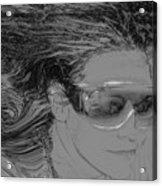 Me Acrylic Print