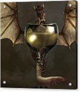 Mead Dragon Acrylic Print by Daniel Eskridge