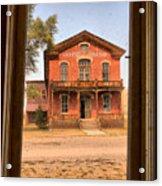 Meade Hotel Framed Acrylic Print