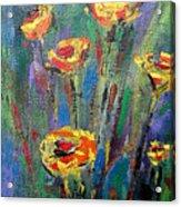 Meadow Flowers Acrylic Print