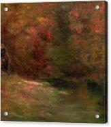 Meadow In Fall Acrylic Print