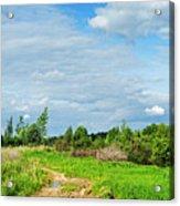 Meadow Road Acrylic Print