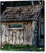 Meadow Shelter Acrylic Print