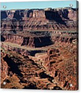 Meander Overlook - Dead Horse Point - Panorama Acrylic Print