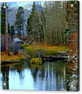 Meandering River Acrylic Print