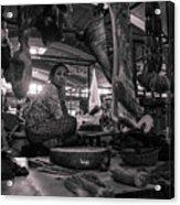 Meat Market Acrylic Print